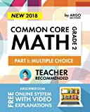 Argo Brothers Math Workbook, Grade 2: Common Core Multiple Choice (2nd Grade)