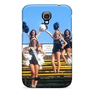 New Style HHaroldshon Hard Case Cover For Galaxy S4- Pittsburgh Steelers Cheerleaders Outfit
