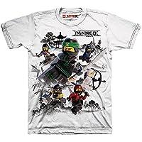 Lego The Ninjago Movie Little Boys' T-shirt, White