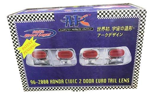 APC 1996-2000 2Dr Honda Civic Euro Tail Lens (Carbon Fiber)