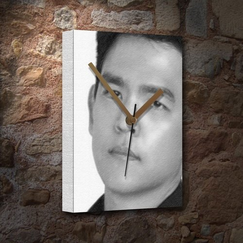 Seasons John CHO - Canvas Clock (Large A3 - Signed by The Artist) #js001