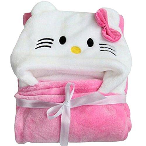 My Newborn Baby Ultra Soft Hooded Bath Robe Cum Wrapper – Pack of 2 Pcs