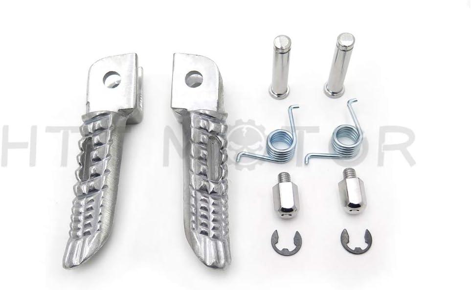 Motorcycle Front Foot Pegs Reposapies Estriberas para Suzuki GSX-R GSXR 600//750/1000/2000/ /2011