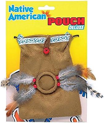 Bolsa india, accesorio para disfraz de indio: Amazon.es ...