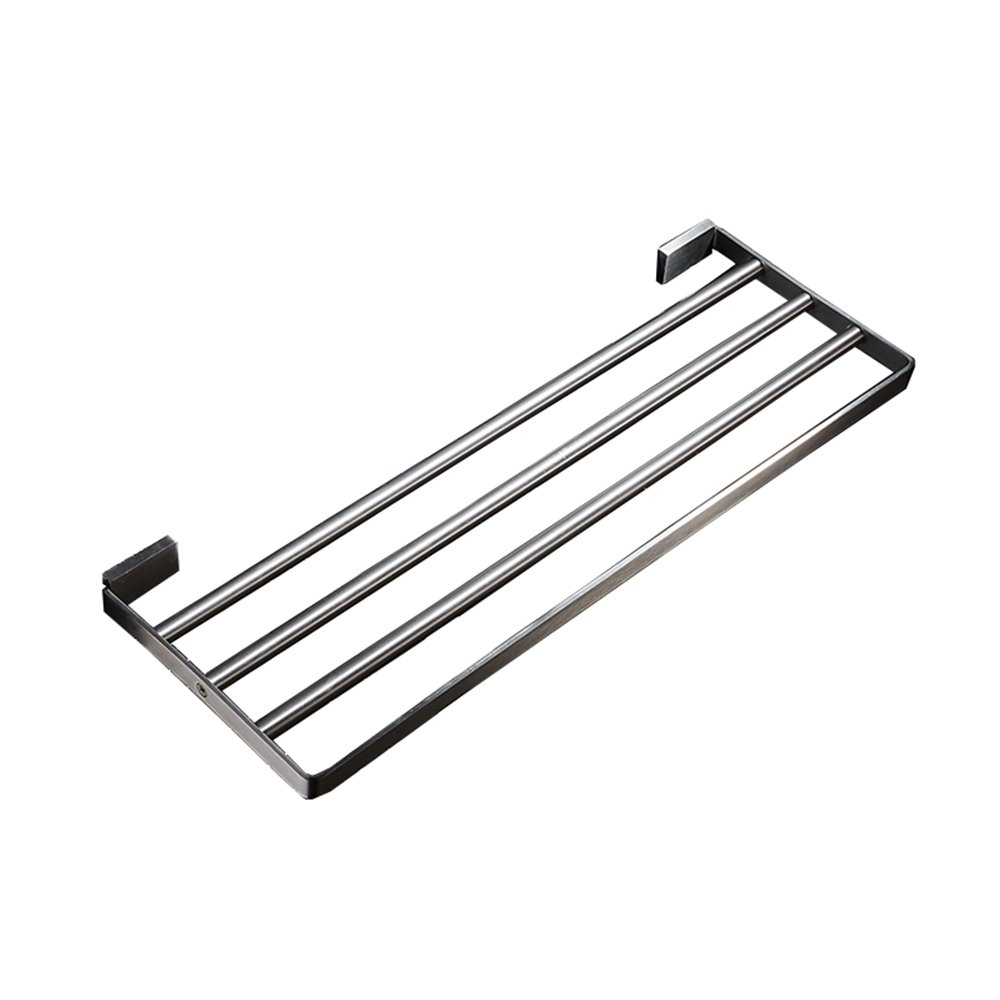 304 brushed stainless steel towel bar / bathroom towel rack / drilling installation / multi-size optional ( Size : 40cm ) HOHE SHOP US