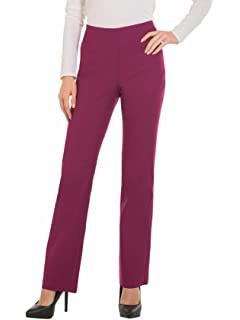 c4647fd12f4c3 Red Hanger Bootcut Dress Pants for Women -Stretch Comfy Work Pull on Womens  Pant