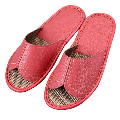 TELLW Femme Pink Chaussons pour Women RwwX0fq