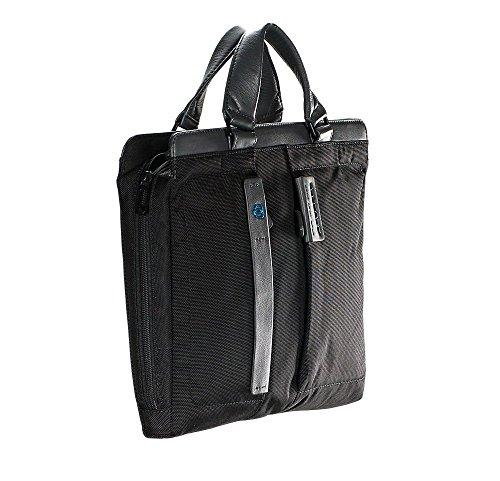 Piquadro Borsa porta PC e porta iPad® dotata di dispositivo CONNEQU Nero