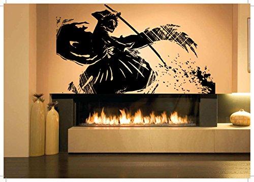 Wall-Room-Decor-Art-Vinyl-Sticker-Mural-Decal-Ninja-Samurai-Bleach-Poster-Anime-Cartoon-Tv-Show-Comics-AS1847