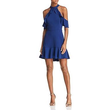 1c064cc74000 Amazon.com: BCBG Max Azria Womens Crepe Short Evening Dress: Clothing
