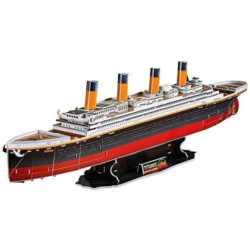 CubicFun T4011h Titanic Ship Model (Large) 3D Puzzle, 113 ()