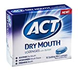 Act Dry Mouth Lozenges with Xylitol Soothing Mint