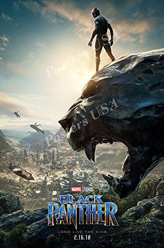 Posters USA - Marvel Black Panther Movie Poster Glossy Finish