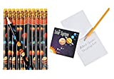 Solar System Pencils and Notepad Set