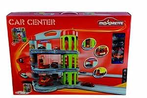 Majorette - Parking Car Center Con Accensor + 5 Coches 157-205819