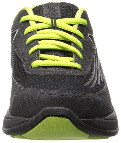 Dansko - Zapatillas para mujer Black/Lime Smooth