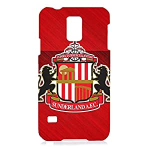 DIY Design FC Sunderland AFC Logo Phone Case Cover For Samsung Galaxy S5 3D Plastic Phone Case