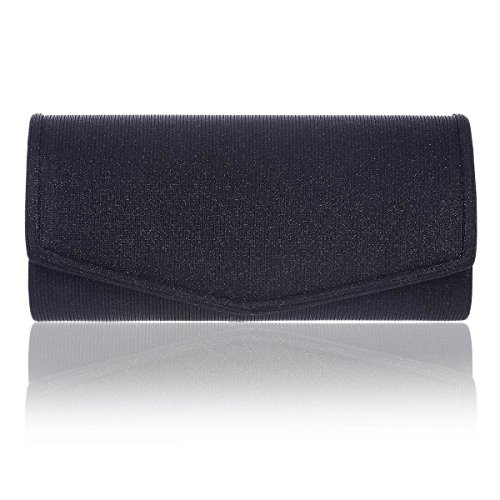 Damara Night Black Women Stylish Handbag Smooth Out Clutch r6Cr4xqwa