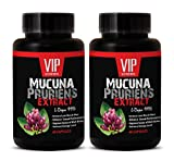 Increase sexual performance for men - MUCUNA PRURIENS EXTRACT 350Mg (L-DOPA 99%) - Mucuna pruriens libido - 2 Bottles 120 Capsules