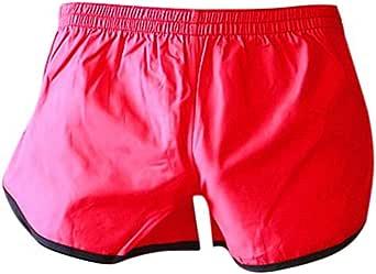 OUBAO Mens Boxer Briefs Big Tall Underwear Swim Trunks
