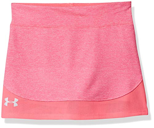 Under Armour Girls' Little Play Up Skort, Mojo Pink-s19, 5