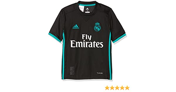 Adidas Real Madrid Camiseta de Equipación, Niños: Amazon.es: Deportes y aire libre