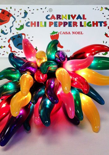 Outdoor Chili Pepper Lights 4