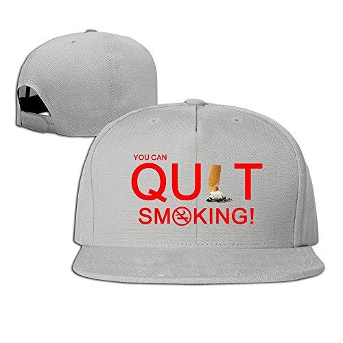 Price comparison product image MaNeg Quit Smoking Unisex Fashion Cool Adjustable Snapback Baseball Cap Hat One Size