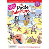 Scribble Down Pirate Adventure Transfer Activity Packs