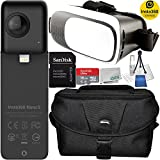 Insta360 Nano S 360 VR Camera, 4K HD 360 Degree Video Camera, Lifestyle Camera, 20MP Photos for for iPhone X, iPhone 8 series, iPhone 7 series, iPhone 6 series Virtual Reality Bundle