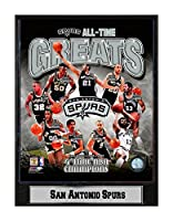 Encore Select 512-32 NBA San Antonio Spurs Tony Parker Logo Plaque, 9-Inch by 12-Inch