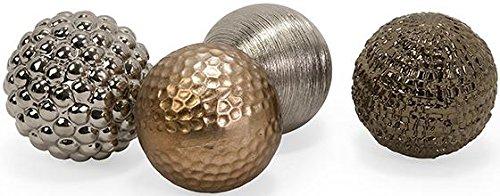 [해외]4 개의 금속성 오브 세트, 4, MULTI 세트/Metallic Orbs Set Of 4, SET OF 4, MULTI