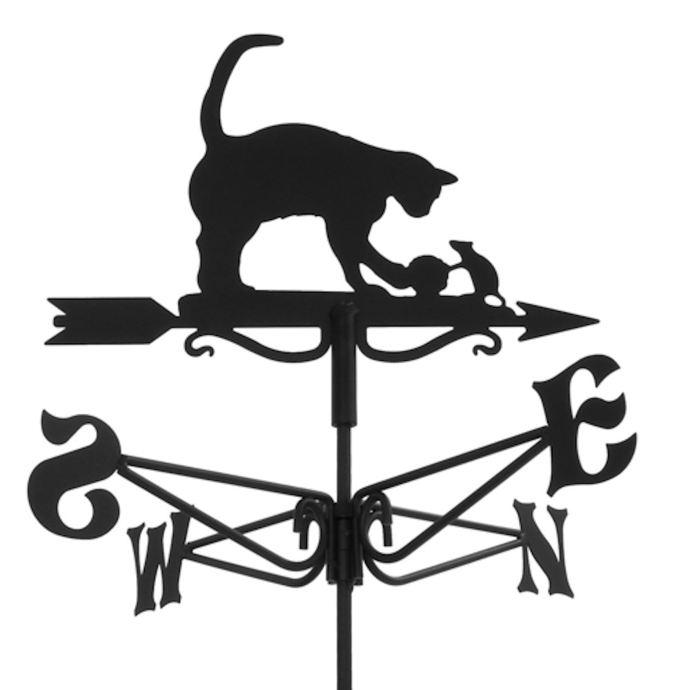 Espira Mini Cat & Mouse Weathervane