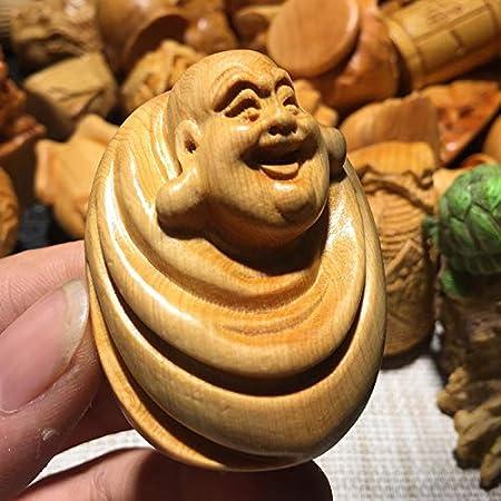 LKXZYX Boda Decoracion Figuras de Grandes Salon candelabros Jardin Exterior Adornos de Talla de Madera, estatuas de Buda, Lijado, artesanías, artesanías de Madera.: Amazon.es: Hogar