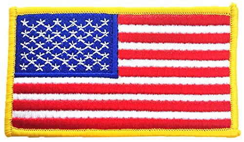American Flag USA Patch comes in single, 6 pack, 12 pack, 24 pack and 50 packs so you get the best deal (Pack of 50) by CityDreamShop