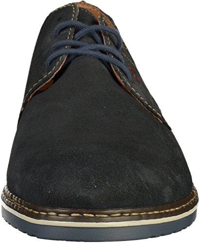 Rierker Mens-lace-up Blau 641360-5 Blau