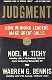 Judgment, Noel M. Tichy and Warren Bennis, 159184293X