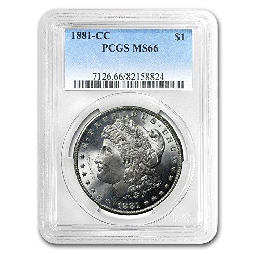 1881 CC Morgan Dollar MS-66 PCGS $1 MS-66 PCGS