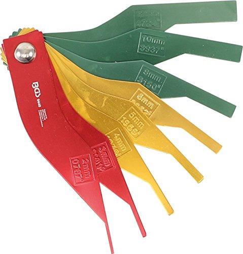 BGS 9440 Brake Pad Wear Teach Set | Metal | 8-Piece Set