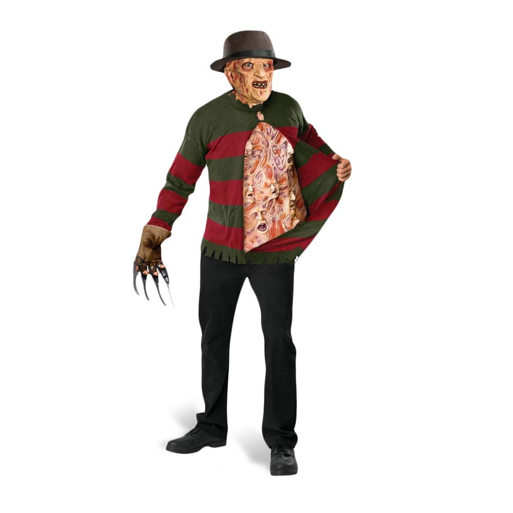 Nightmare On Elm Street - Freddy Krueger Screaming Souls Jumper ...