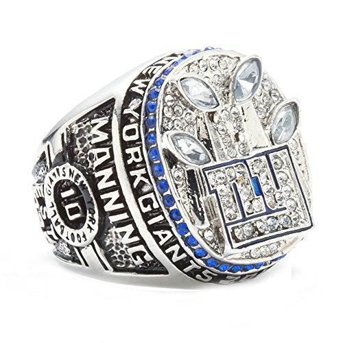 - HTEGAE The Year 2011 For Men's New York Giants Championship Rings,Size 8