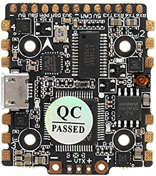 Opinión sobre HGLRC F4 F4 Zeus Vuelo Controll®Innerseal AIO 15A BL_S ESC & TX20 V2.0 48CH Pit / 25/100/200 / VTX de 350mW