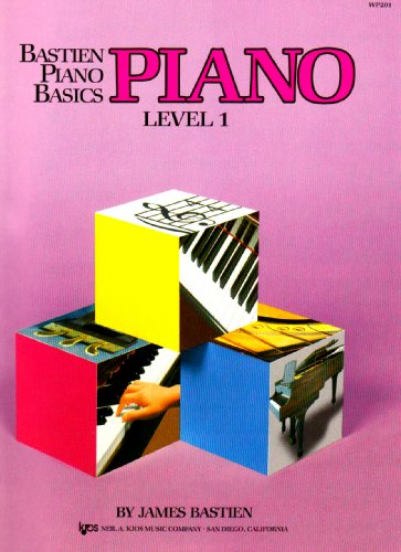 WP201 - Bastien Piano Basics - Piano Level 1