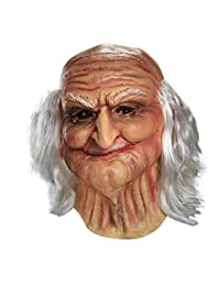 Disguise Men's Male Oldie Adult Vinyl Costume Mask