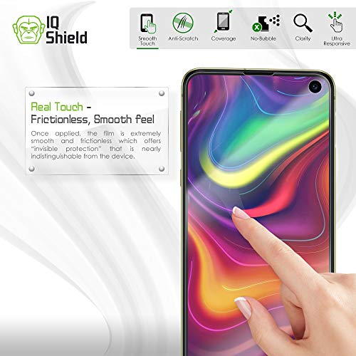 IQ Shield Screen Protector Compatible with Galaxy S10e 5.8 inch (2-Pack)(Case Friendly) Anti-Bubble Clear Film