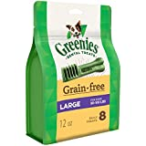 Greenies Grain Free Large Dental Dog Treats, 12 Oz. Pack (8 Treats)