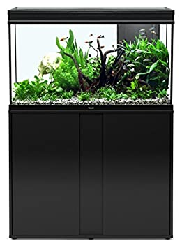 aquarium meuble expert led 248l 100x40x60 aquatlantis noir