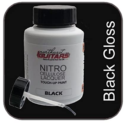 Nitrocellulose - Barniz para guitarra (50?ml), color negro