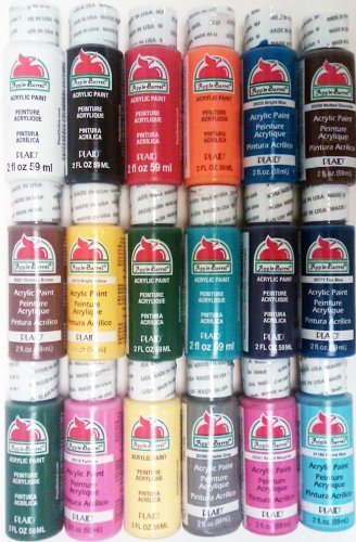 Plaid PROMOABI Apple Barrel Acrylic Paint, 2-Ounce, Best...