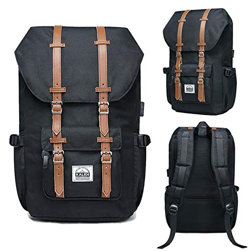 d056becd0d Casual Backpack, KALIDI 18.4 Inch Laptop Hiking Backpack Travel Daypack  School College Bag Rucksuck Upgraded